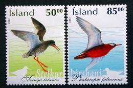 Iceland  2002 BIRDS  Minr.1022-23  MNH (**)  ( Lot F 611) - Nuevos