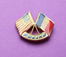 Boeing Drapeaux USA/France - Airplanes