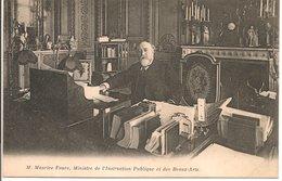 L74A578 - Portrait De Maurice Faure - Ministre De L'Insruction Publique Et Des Beaux Arts - - Hommes Politiques & Militaires