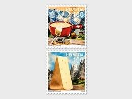Switzerland 2018 - Fondue Stamp Set Mnh - Unused Stamps