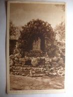 Carte Postale Saint Gildas Des Bois (44) Grotte Sainte Anne (Petit Format Noir Et Blanc Oblitérée 1924 Timbres 5 C) - France