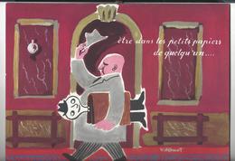 CALENDRIER CENPA 1954 Illustrations Dessins De Francis Bernard , Jean Carlu , Jean Effel, Bernard Villemot - Calendriers