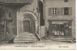 87       Champagnac La Riviére         Place De L'église      (animations) - France
