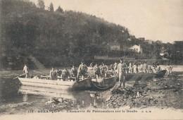 CPA - France - (25) Doubs - Besançon - Manoeuvre De Pontonniers Sur Le Doubs - Besancon