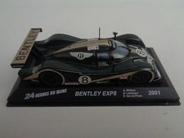 BENTLEY EXP  SPEED 8 .  24 H Du Mans 2001 . # 8  A.Wallace,B.Leitzinger,E.Van De Poele  1/43 -Altaya - Voitures, Camions, Bus
