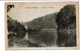 CPA - Carte Postale-Belgique -Godinne Meuse Et Eglise -1945-  S3034 - Yvoir