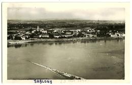 SABLONS Le Village Et Le Rhône. Cellard (Sablons Au Feutre Recto) - Autres Communes
