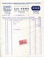 11.AUDE.CARCASSONNE.PARFUMERIE LILI PONS 7 RUE FREDERIC MISTRAL. - Chemist's (drugstore) & Perfumery