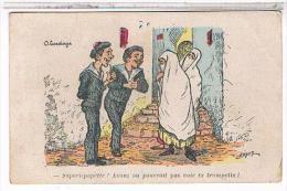ILLUSTRATEUR  L.  CHAGNY   HUMOUR  ORIENTALISME   SAPERLIPOPETTE  !  TBE - Illustrators & Photographers