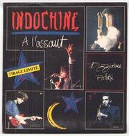 45 TOURS INDOCHINE ARIOLA 108719 A L ASSAUT / DIZZIDENCE POLITIK - Vinyl Records
