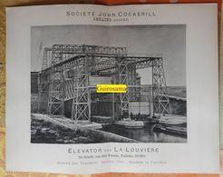 Ascenseur à Bateau De La Louvrière - Société John Cockerill Seraing (Belgique) - Travaux Publics