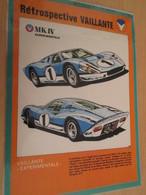 (34)  PAGE DE REVUE TINTIN ANNEES 60/70 / RETROSPECTIVE VAILLANTE VOITURES MICHEL VAILLANT - Michel Vaillant