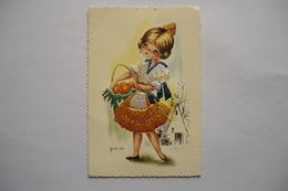 CP BRODEE. Carte Postale Brodée. GALLARDA. - Brodées