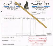 Liège / Bruxelles - Luik / Brussel: 1956  Caféterie CHAT NOIR  -  Koffiebranderij ZWARTE KAT - 1950 - ...