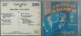 CD  JAMES BROWN - LIVE IN CONCERT - 16 TITRES - Musique & Instruments