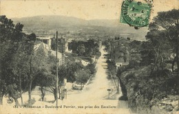 13 - Marseille - Boulevard Perrier - Vue Prise Des Escaliers (pas Courante) - Marseille
