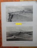 Ile Amsterdam (Passage De Vénus, Mission De L'ile Saint-Paul) : Cratère - Lithographies