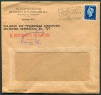 Netherlands, De Rotterdamsche Droogdok Maatschappij Cover - Argus Press Agency, Geneva Swizerland. - Period 1891-1948 (Wilhelmina)