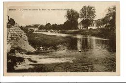 CPA - Carte Postale-Belgique - Hamoir -L'Ourthe En Amont Du Pont-1950  S3041 - Hamoir