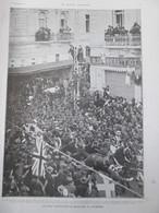 1921 GRECE Le Roi Constantin   Rentre à ATHENES - Old Paper