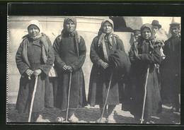 AK Types Russes, Pélerines, Russinnen Mit Kopftüchern - Ohne Zuordnung