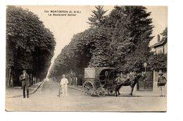 CPA  MONTGERON  LE BOULEVARD SELLIER - Montgeron