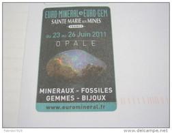 F3 FRANCE FRANCIA - 2011 PORT PAYE MINERAL FOSSIL S. MARIE AUX MINE GEMMES MINERALI FOSSILI OPALE - Minerali