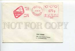 292308 FINLAND 1979 Year COVER Postage Metter Helsinki Karelia - Covers & Documents