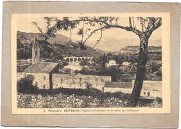 SISTERON - 04 - Eglise Saint Dominique Et Les Ponts Sur La Durance - DELC5 - - Sisteron