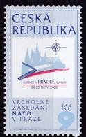 2002, Tschechische Republik, Ceska, 337, NATO-Gipfelkonferenz.  MNH ** - Tschechische Republik