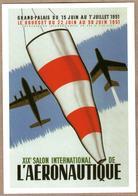 Salon Aéronautique 1951 (Grand Palais, Paris Et Le Bourget) Aviation, Avions - Aviazione