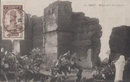 Plantes - Cactus Raquettes - Maroc Rabat Ruines De La Tour Hassan - 1926 - Cactus
