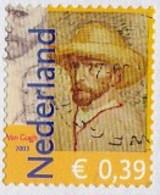 Nederland - 5.500 Zegels - Vincent Van Gogh Zelfportret - Onafgeweekt/op Fragment - NVPH 2139 - Stamps