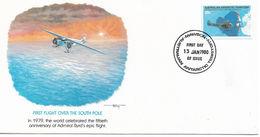 Australia Antarctic Territory FDC 1980 First Flight Issue !! - FDC