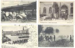 4 Cpa Arras - Guerre, Hôpital Bombardé, Artillerie ...  ( S.3090 ) - Arras