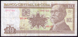 CUBA 10 PESOS 2015 REMPLAZO DZ - Cuba