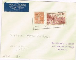 R1-  St Etienne  AVION  ( Loire ) - 1927-1959 Storia Postale