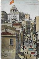 CPA - CONSTANTINOPLE - RUE YUKSEK KALDIRIM - Turquie