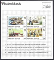 Pitcairn  Yv & T  BF 6  London 1980 ** Mnh - Pitcairn