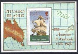Pitcairn  Yv & T  BF 9  Bicentenaire De L'Australie ** Mnh - Timbres