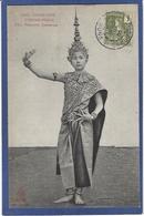 CPA Cambodge Indochine Type Timbré Non Circulé Danseuse - Cambodge