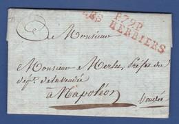 79 VENDEE- P79P LES HERBIERS - Du PUY DU FOU Le 26 Floréal An XIII (16 Mai 1805) à NAPOLEON Pour Mr MERLET Préfet - Postmark Collection (Covers)