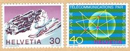 **LA SERIE TIMBRES NEUFS 1971 C/.S.B.K. Nr:503/504. Y&TELLIER Nr:884/885. MICHEL Nr:953/954.** - Suisse
