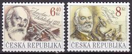 2003, Tschechische Republik, Ceska, 347/48, Persönlichkeiten.  MNH ** - Tschechische Republik