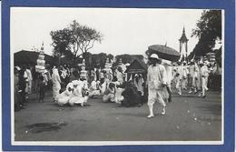 Photo Cambodge Indochine écrite Royalty Royauté Roi Crémation Sisowath - Cambodge