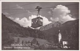 Ansichtskarte. Schwebebahn, Schattdorf - Haldiberg - Funiculaires