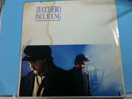 ZUCCHERO PAUL YOUNG-ZENZA UNA DONNA.- DISQUE 33 T. - Vinyl Records