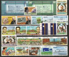 25 Francobolli Molto Belli Dell'Isola Nauru, Cancellati, Di Buona Qualità.  (Yvert 20,00 Euro) - Nauru