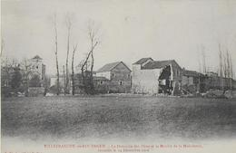 VILLEFRANCHE DE ROUERGUE :Le Domaine Des Pères Et Le Moulin De La Maladrerie Inondés Le 14 Décembre  1906 - Villefranche De Rouergue
