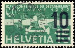Suisse Poste Aérienne 1935. ~ A 20 - Timbre De 1932 Surchargé - Oblitérés